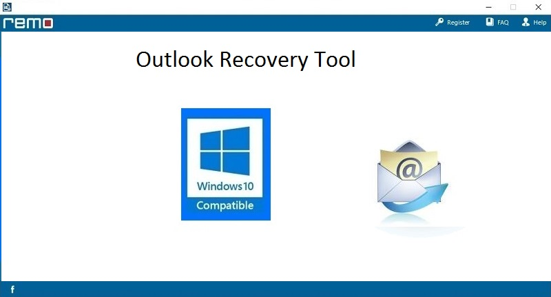Screenshot of Outlook Recovery 3.0.0.7